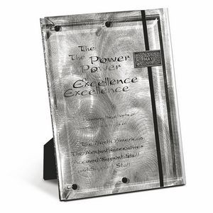 "Perpetual Fascination Plaque Award (9""x12""x1 1/2"")"